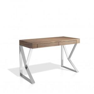 Rašomasis stalas iš MDF su riešutmedžio fanera
