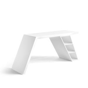 Rašomasis stalas iš lakuotos MDF