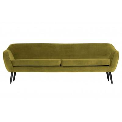 Sofa Rocco XL, 230 cm, velvetas (alyvuogių žalia)