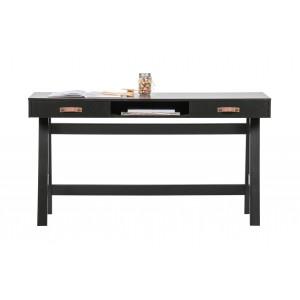 Rašomasis stalas Dian, pušis (juoda)