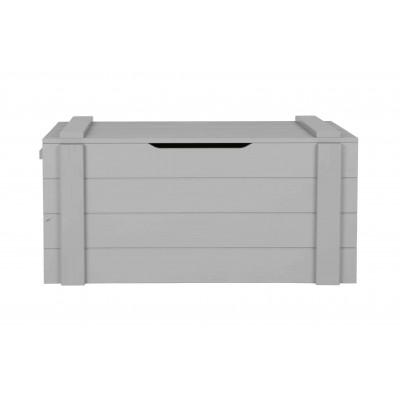 Dėžė daiktams laikyti Dennis, šveista pušis (betono pilka)