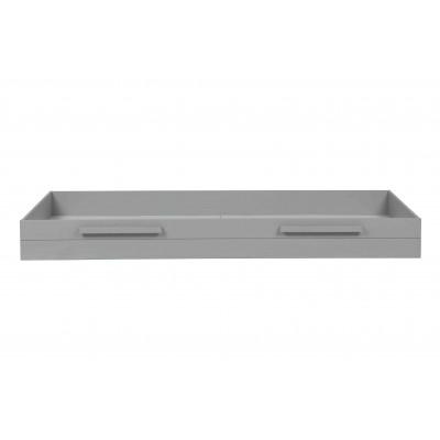 Čiužinio / lovos stalčius Dennis, šveista pušis (betono pilka)