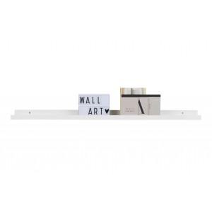 Nuotraukų lentyna Studio, 120 cm, MDF (balta)