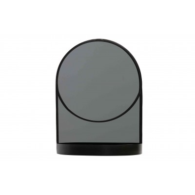 Metalinis veidrodis Malik (juoda)