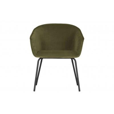 Valgomojo kėdė Sien, velvetas (rusvai žalsva), 2 vnt.