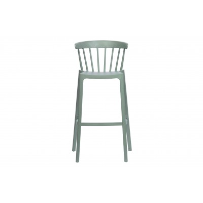 Plastikinė baro kėdė Bliss (nefrito žalia), 2 vnt.