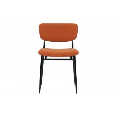 Valgomojo kėdė DanÉ , kordinis velvetas (oranžinė), 2 vnt.