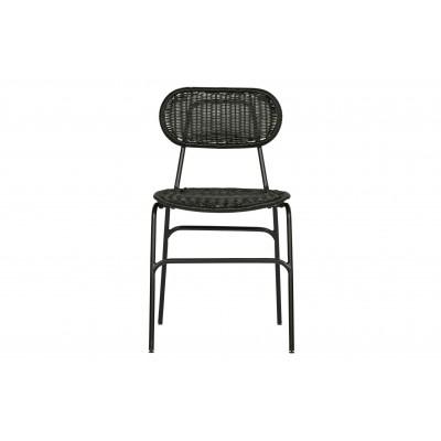 Valgomojo kėdė Britt (juoda), 2 vnt.