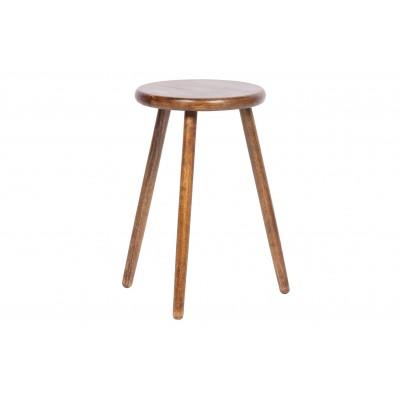 Šoninis staliukas Malon, 50 cm, medis (riešutmedžio spalvos)