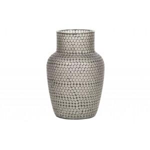 Stiklinė vaza Ace (juoda)