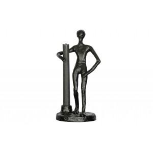 Metalinė žvakidė Mattie (juoda)