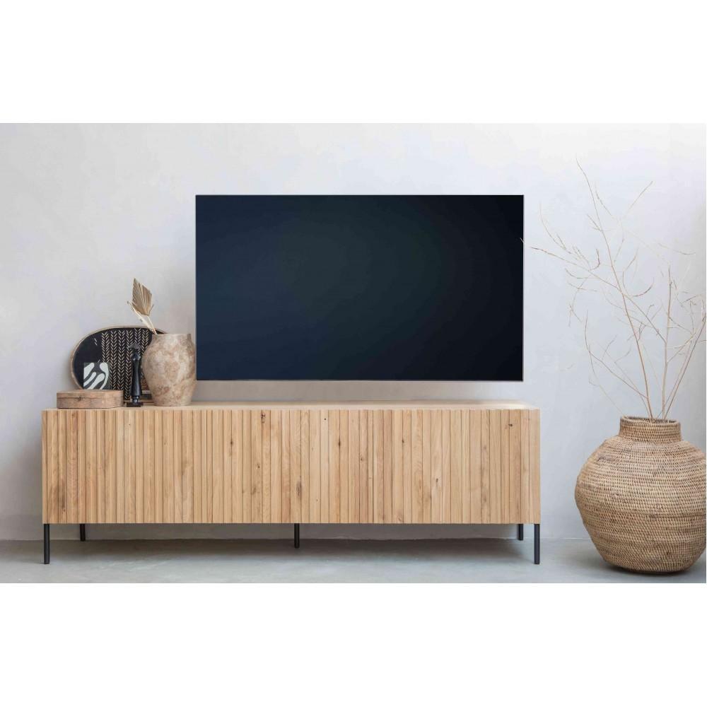 Televizoriaus spintelė Gravure, ąžuolas (natūrali)
