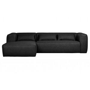 Kampinė sofa Bean su pagalvėlėmis (tamsiai pilka)