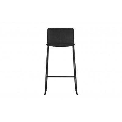Baro kėdė Evan (juoda su pilkšvu atspalviu) (2 dalių komplektas)