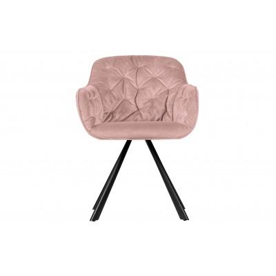 Valgomojo kėdė Elaine, velvetas (blyški rusvai pilka)