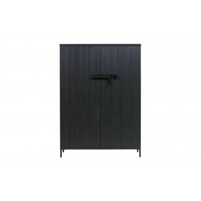 2 durų spinta Bruut, pušis (juoda)