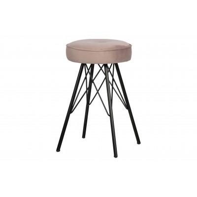 Kėdė Bella, velvetas (šviesiai rožinė), 2 vnt.