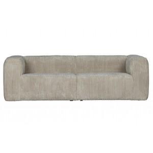 3.5 vietų sofa Bean (juoda)