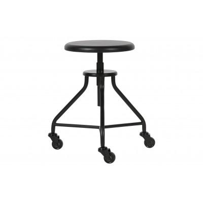 Kėdė Royce, metalas / medis (juoda)