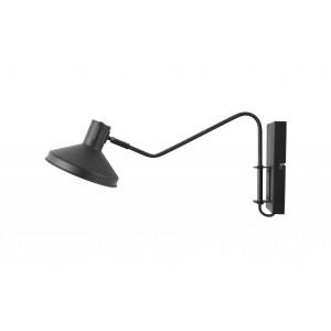 Sieninis šviestuvas Niek, metalas (juoda)
