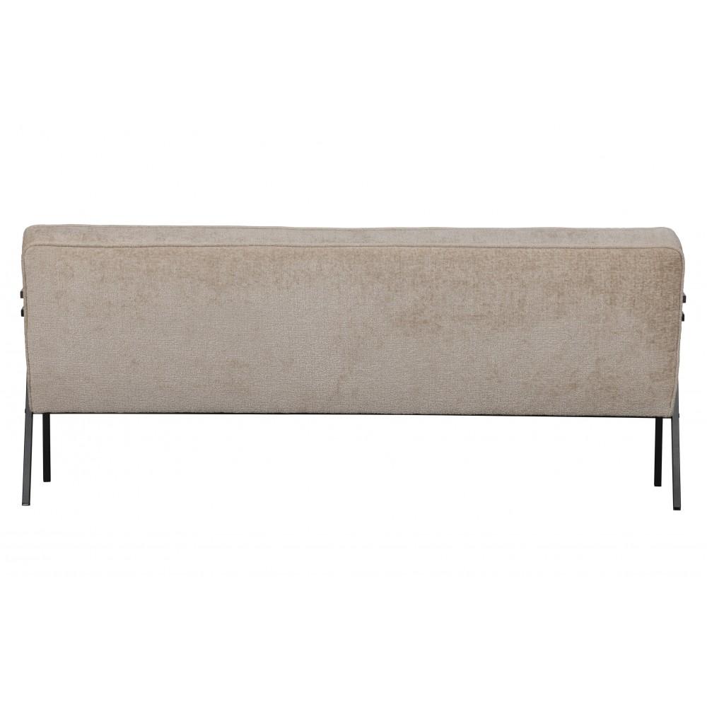 Sofa Elizabeth, velvetas (natūrali)