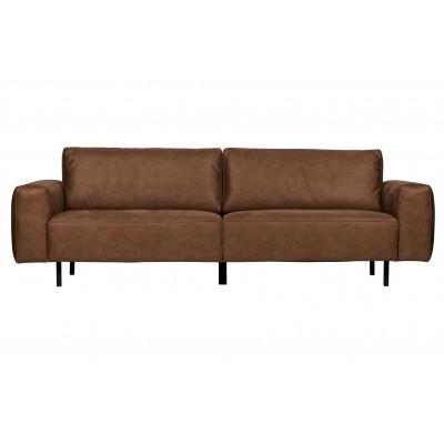 Trivietė sofa Rebound (konjako)