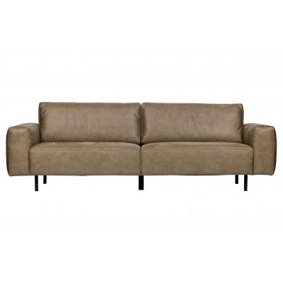 Trivietė sofa Rebound (kapučino)
