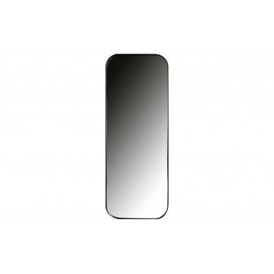 Metalinis veidrodis Doutzen, 110x40 cm skersm. (juoda)