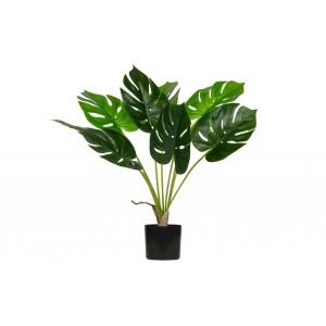 Žalia monstera, dirbtinė, 70 cm