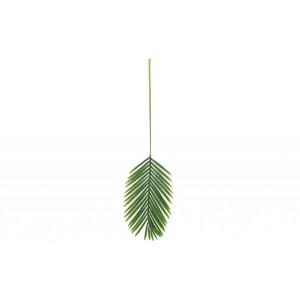 Žalias palmės lapas, dirbtinis, 110 cm
