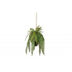 Žalias papartis, dirbtinis, 58cm