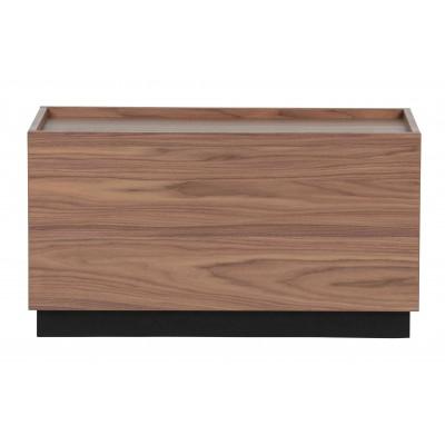 Kavos staliukas Block, 40x82 cm, pušis (riešutmedžio)