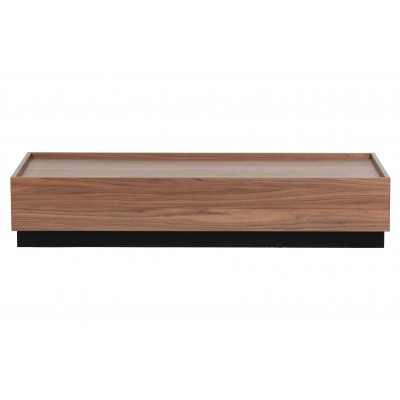 Kavos staliukas Block, pušis, 135x60 cm (riešutmedžio)