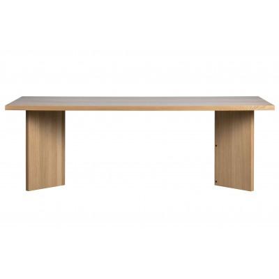 Valgomojo stalas Angle, ąžuolo fanera