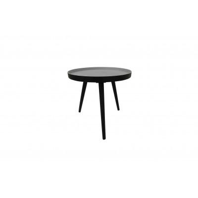 Kavos staliukas Sasha, 41x41 cm (juoda)