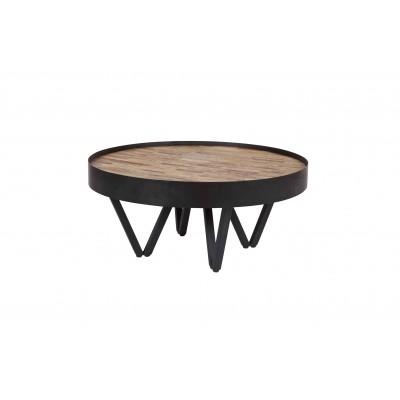 Šoninis staliukas Dax, 74x74x34 cm