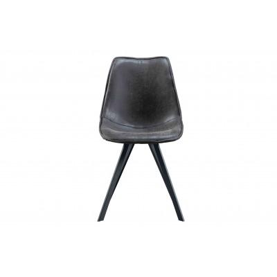 Valgomojo kėdė Swen (vintažinės juoda), 2 vnt.