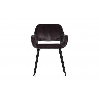Kėdė Jelle, velvetas (pilka), 2 vnt.