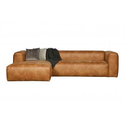 Kampinė sofa Bean, kairinė (konjako)