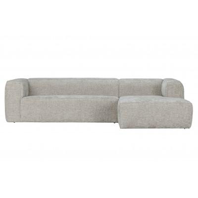 Kampinė sofa Bean Hefty, dešininė, melanžas (natūrali)