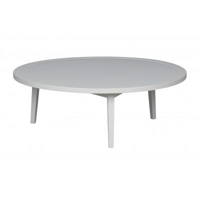 Kavos staliukas, 35x100x100 cm, medis (betono pilka)
