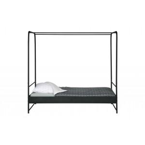 Lova Bunk, 120x200 cm, metalas (juoda)