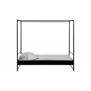 Lova Bunk, 90x200 cm, metalas (juoda)