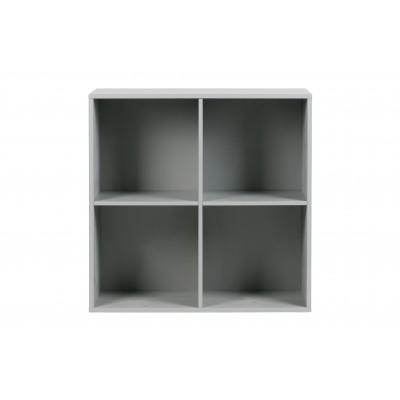 Keturių atvirų skyrelių apatinė spintelė Vt, pušis (betono pilka)