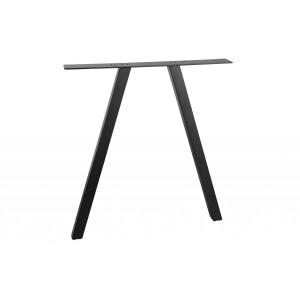 2 padėčių kvadratinė koja Tablo, metalas