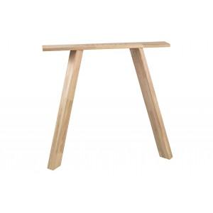 3 padėčių kvadratinės stalo kojos Tablo, ąžuolas (2 dalių komplektas)