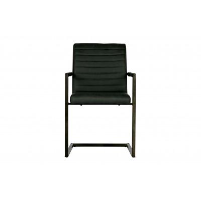 Valgomojo kėdė Bas (antracito), 2vnt.