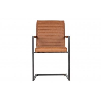 Valgomojo kėdė Bas, poliuretano (konjako)