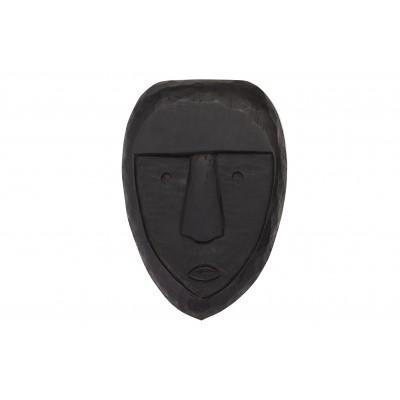 Medinė kaukė Xava (juoda)