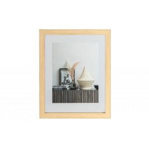Nuotraukos rėmelis Blake, 50x40 cm, medinis (natūrali)